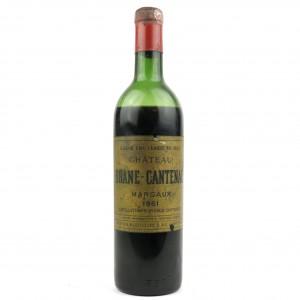 Ch. Brane-Cantenac 1961 Margaux 2eme-Cru