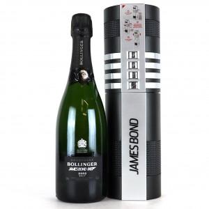 Bollinger 2002 Vintage Champagne / James Bond 007 Limited Edition