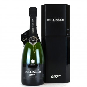 Bollinger 2009 Vintage Champagne / 007 Spectre Limited Edition
