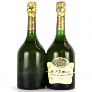 Taittinger Comtes de Champagne 1964 Blanc De Blancs Champagne / 2 Bottles