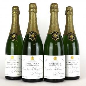 Bollinger Very Dry NV Champagne / 4 Bottles