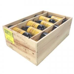 Ch. Lafon-Rochet 2005 St-Estephe 4eme-Cru 12x75cl / Original Wooden Case