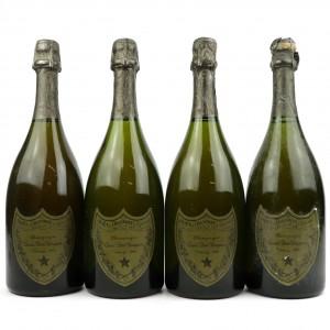 Dom Perignon 1980 Vintage Champagne 4x75cl