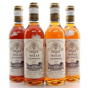 Ch. De Malle 1990 Sauternes 2eme-Cru 4x37.5cl
