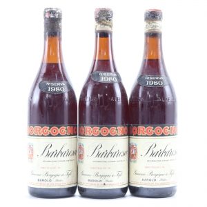 Borgogno 1980 Barbaresco Riserva 3x75cl