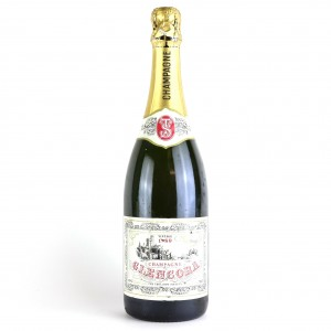 Glencora Brut 1989 Vintage Champagne / The Trollope Society