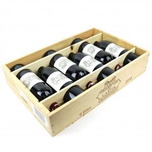 Ch. Lafite-Rothschild 2013 Pauillac 1er-Cru 6x75cl / Original Wooden Case
