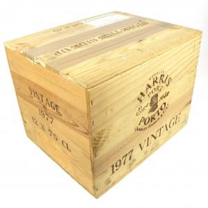 Quarles Harris 1977 Vintage Port 12x75cl / Original Wooden Case
