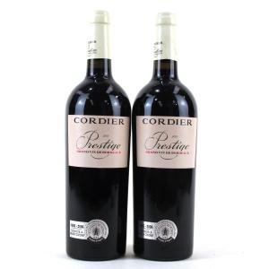 """Cordier """"Prestige"""" 2005 Bordeaux 2x75cl"""