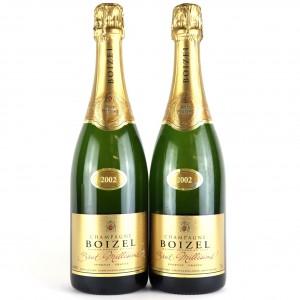 Boizel 2002 Vintage Champagne 2x75cl