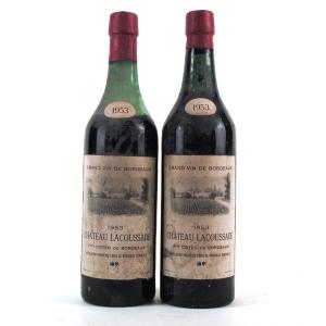 Ch. Lacoussade 1953 Bordeaux 2x75cl