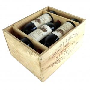 Ch. Ausone 1988 St-Emilion 1er Grand Cru 6x75cl / Original Wooden Case