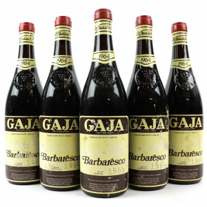 Gaja 1964 Barbaresco 5x72cl