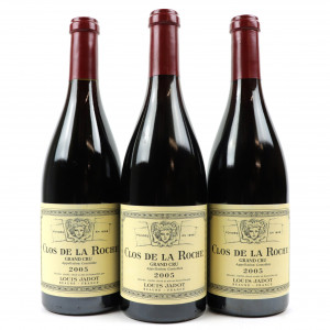 L.Jadot 2005 Clos De La Roche Grand-Cru 3x75cl