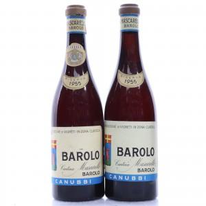 Mascarello Canubbi 1955 Barolo Riserva / 2 Bottles