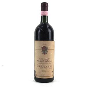 Carpineto Vino Nobile Di Montepulciano 1990 Reserva