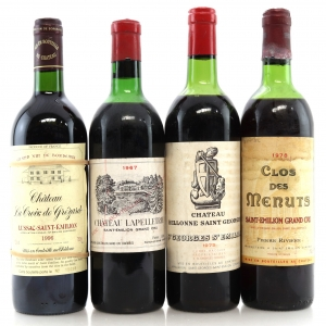 Assorted St-Emilion Wines 4x75cl