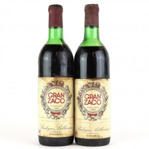 Gran Zaco Vendimia Especial1962 Rioja Gran Reserva / 2 Bottles
