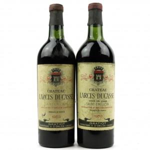 Ch. Larcis Ducasse 1953 St-Emilion / 2 Bottles