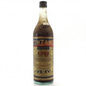 Cinzano Bianco Vermouth 1 Litre / Circa 1960s
