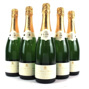 Justerini & Brooks Brut NV Champagne / 250th Anniversary 5x75cl