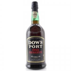 Dow's 1965 Reserve Port / Bottled 1977
