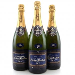 Nicolas Feuillatte 2000 Vintage Champagne 3x75cl