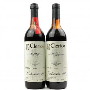 Clerico 1981 Barolo 2x75cl