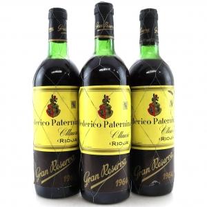 Federico Paternina 1964 Rioja Gran Reserva 3x75cl