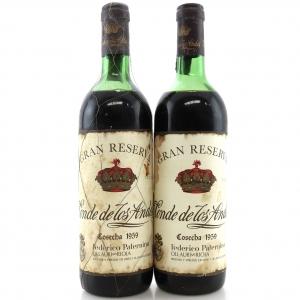 F.Paternina Conde De Los Andes 1959 Rioja Gran Reserva 2x75cl