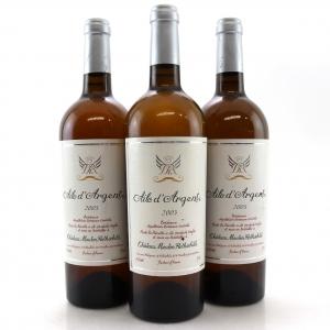 Ch. Mouton-Rothschild Aile d'Argent 2005 Bordeaux Blanc 3x75cl