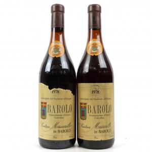 Mascarello 1978 Barolo 2x75cl