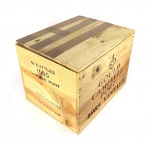 Gould Campbell 1985 Vintage Port 10x75cl / Original Wooden Case