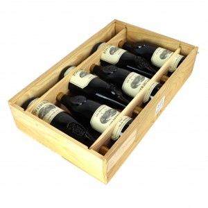 Delas Les Bessards 1995Hermitage 6x75cl / Original Wooden Case