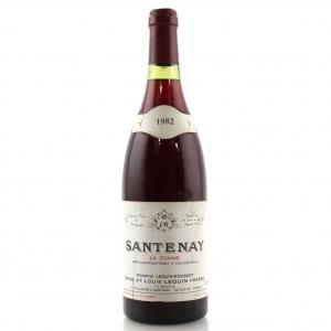 Dom. Lequin-Roussot La Comme 1982 Santenay 1er-Cru