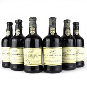 Royal Oporto Quinta Das Carvalhas 1970 Vintage Port / 6 Bottles
