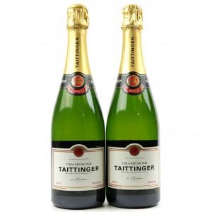 Taittinger Brut Reserve NV Champagne 2x75cl