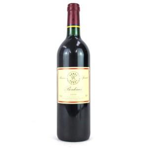 """Dom. Barons De Rothschild (Lafite) """"Reserve Speciale"""" 2000 Bordeaux"""