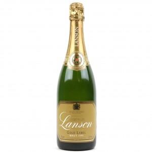 Lanson Gold Label Brut 1990 Vintage Champagne