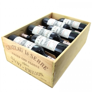 Ch. La Serre 1995 St-Emilion Grand Cru 12x75cl / Original Wooden Case