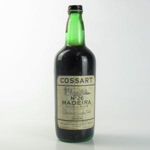 Cossart No.26 Madeira Circa 1950s/60s