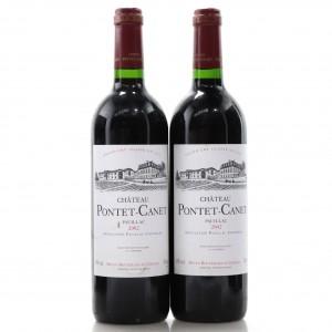 Ch. Pontet-Canet 2002 Pauillac 5eme-Cru 2x75cl