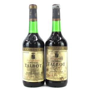 Ch. Talbot 1974 Saint-Julien 4eme-Cru 2x73cl