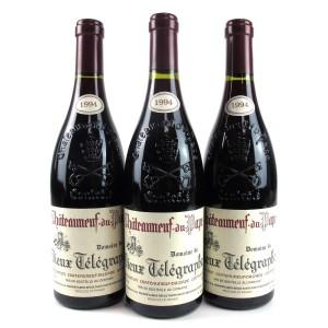 Dom. Du Vieux Telegraphe 1994 Chateauneuf-Du-Pape 3x75cl