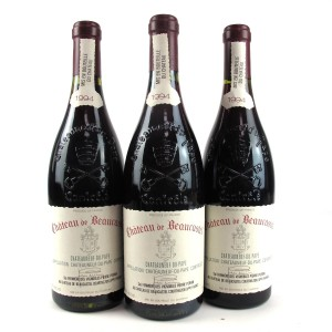 Ch. De Beaucastel 1994 Chateauneuf-Du-Pape 3x75cl