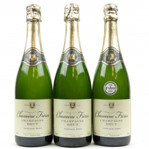 Chanoine Freres Brut 2007 Vintage Champagne 3x75cl