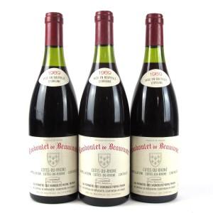 Coudoulet De Beaucastel 1989 Côtes-Du-Rhône 3x75cl
