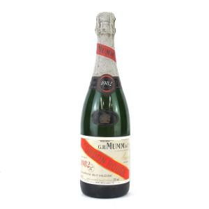Mumm Cordon Rouge 1982 Vintage Champagne