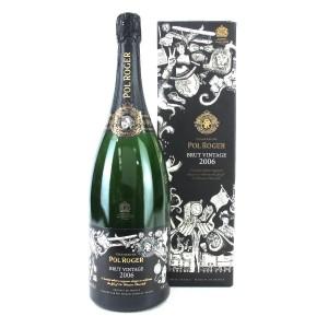Pol Roger 2006 Brut Vintage Champagne 150cl / Winston Churchill Tribute