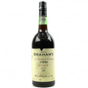 Graham's 1986 LBV Port